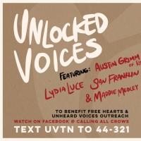 Unlocked Voices Announces First In A Series Of Livestream Fundraiser Events Photo
