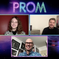 BWW Exclusive: James Corden and Jo Ellen Pellman Get Ready for THE PROM Night! Video