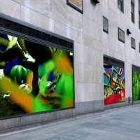 Interactive Digital Art Installation LIFE FORCES to Debut in Rockefeller Center in Ap Photo