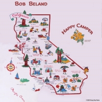 Bob Beland To Release 8th Album HAPPY CAMPER Photo