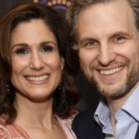 VIDEO: Stephanie J. Block & Sebastian Arcelus Visit Backstage LIVE with Richard Ridge- Thu Photo