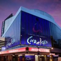 VIDEO: Marquee for Andrew Lloyd Webber's CINDERELLA Goes Up at the Gillian Lynne Thea Photo