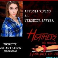 Antonia Vivino Stars In HEATHERS: THE MUSICAL At Simi-Arts Photo