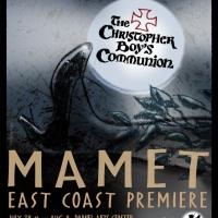 Great Barrington Public Theater Presents David Mamet's THE CHRISTOPHER BOY'S COMMUNIO Photo