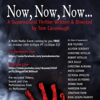 Tom Cavanaugh and We Make Movies Present NOW, NOW, NOW... a Livestream Zoom Thriller Photo
