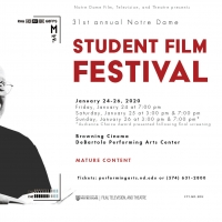 31st Annual Notre Dame Student Film Festival to Take Place January 24-26 Photo