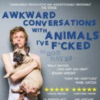 AWKWARD CONVERSATIONS WITH ANIMALS I'VE F*CKED Will Embark on National Tour