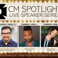 CM Performing Arts Center To Host Live Speaker Spotlight Series