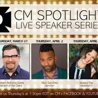 CM Performing Arts Center To Host Live Speaker Spotlight Series Photo