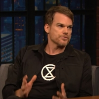 VIDEO: Watch Michael C. Hall Talk About His First NYC Apartment on LATE NIGHT WITH SE Photo