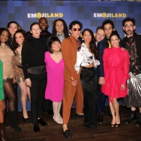 BWW TV: Lesli Margherita, Josh Lamon & More Celebrate Opening Night of EMOJILAND! Photo
