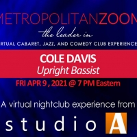 MetropolitanZoom presents COLE DAVIS - Jazz Bass Photo