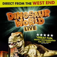 DINOSAUR WORLD LIVE and B - THE UNDERWATER BUBBLE SHOW Come to The Oncenter Crouse Hi Photo