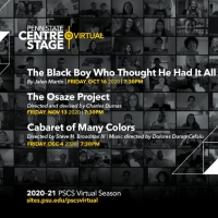 Penn State Centre Stage Virtual Presents THE BLACK BOY WHO THOUGHT HE HAD IT ALL, THE OSAZ Photo