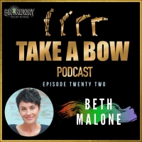 FUN HOME Stars Beth Malone and Sydney Lucas Reunite on TAKE A BOW Podcast Photo