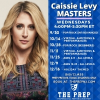 The Prep Welcomes Broadway's Caissie Levy To Teach Masterclasses This Fall Photo