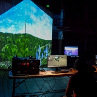 Lighting Design and Technology Student Explores XR Extended Reality Production Photo