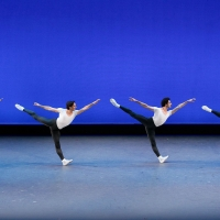 BWW Review: LA Ballet Presents Brilliant BALANCHINE BLACK & WHITE  ~  IN AGON, APOLLO Photo