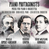 The Orchestra Now Releases New CD 'Piano Protagonists' Photo