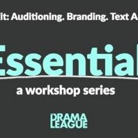 The Drama League Announces THE ESSENTIALS Fall Lineup Photo