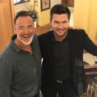 Two Javerts Meet - Hayden Tee And Robert McDougall of LES MISERABLES