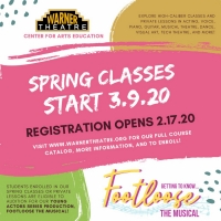 Warner Theatre Center for Arts Education Spring Term Classes to Begin Next Week Photo