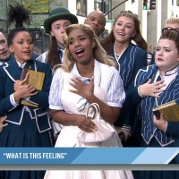 VIDEO: The Cast of WICKED Performs 'What Is This Feeling?' on THE TODAY SHOW Photo