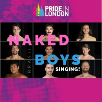 Elenco Do Musical NAKED BOYS SINGING! Brasil Participa Da Parada LGBTQIA+ De Londres Photo