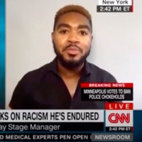 VIDEO: Broadway Stage Manager Cody Renard Richard Talks Racism & Accountability on CNN
