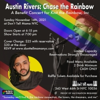 Austin Rivers to Make NYC Debut In Benefit Concert For Knit The Rainbow, Inc. Photo