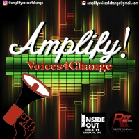 'AMPLIFY!Voices4Change' Social Justice Project - Podcast Cover Submissions And Cash P Photo