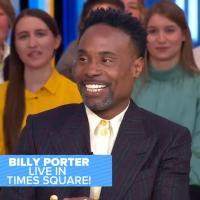 VIDEO: Billy Porter Talks About His GOLDEN GLOBES Look on GOOD MORNING AMERICA Photo