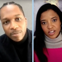 VIDEO: Lin-Manuel Miranda, Leslie Odom Jr. & Renée Elise Goldsberry Take Us 'Behind the Sc Photo