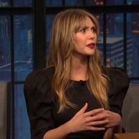 VIDEO: Elizabeth Olsen Talks About Keeping Marvel Secrets on LATE NIGHT WITH SETH MEYERS!