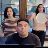 VIDEO: Robert Lopez, Kristen Anderson-Lopez, and Their Kids Perform 'I Get Around' Photo
