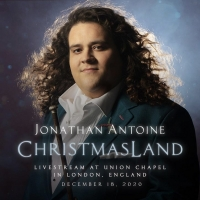 Renowned UK Tenor Jonathan Antoine to Present Streaming Holiday Concert