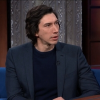 VIDEO: Adam Driver Talks MARRIAGE STORY on THE LATE SHOW WITH STEPHEN COLBERT Video