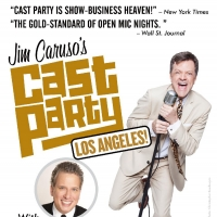Jim Caruso's CAST PARTY With Billy Stritch Returns To Feinstein's At Vitello's