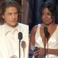 VIDEOS: Danny Burstein, Aaron Tveit, Adrienne Warren, and More Accept Their Tony Awards Photo