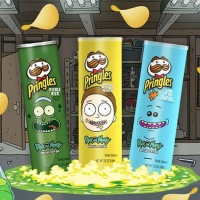 Pringles Introduces RICK AND MORTY Inspired Flavors Photo