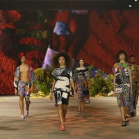 Review   FIRST NATIONS FASHION: WALKING IN TWO WORLDS AT BRISBANE FESTIVAL Photo
