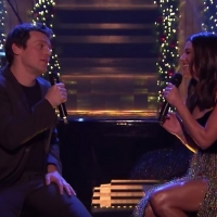 VIDEO: Lea Michele and Jonathan Groff Perform 'I'll Be Home For Christmas' on THE TONIGHT SHOW