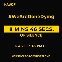 NAACP Encourages Moment of Silence Today to Honor George Floyd