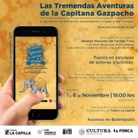 LAS TREMENDAS AVENTURAS DE LA CAPITANA GAZPACHO regresan este 1 y 8 de noviembre Photo