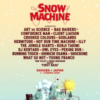 Snow Machine Announces 2020 Debut Festival in Japan Photo