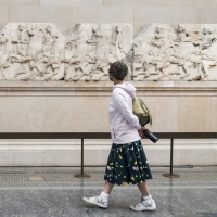 British Museum Reopens After 163 Days of Closure Photo