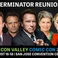 TERMINATOR Stars Spanning the Iconic Sci-Fi Series Reunite at Silicon Valley Comic Co Photo