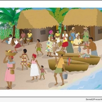Casita Maria Center for Arts & Education Celebrates Garifuna Culture With Gallery Exh Photo