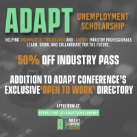 The ADAPT Conference Announces ADAPT Unemployment Scholarship Photo