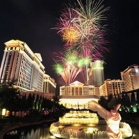 Cheers To The New Year With Caesars Entertainment Las Vegas Resorts Photo